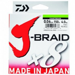 J BRAID X 8 MULTICOLOR