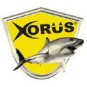 artículos de pesca de la marca xorus