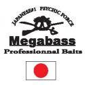 artículos de pesca de la marca megabass